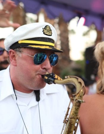 yacht rock saxophone yachty by nature live in palm springs rym the prescription rx
