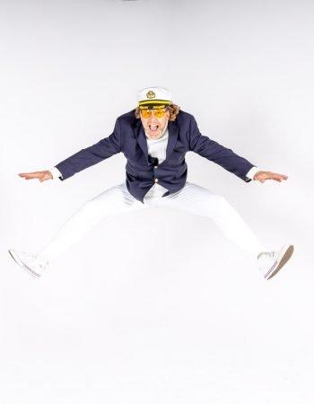 captain carl jump yachty by nature blazer hat yacht rock band bands california