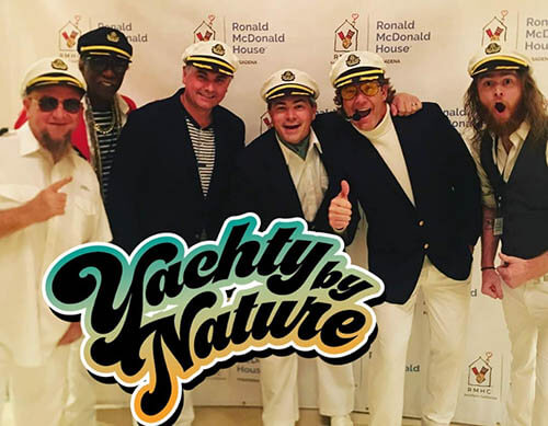 yachty by nature yacht rock cover band bands ronald mcdonald house smooth captains captain wedding orange county oc los angeles ventura san diego ycrew crew boat