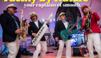 yacht rock wedding bands band smooth captains attire clothes outfit yachty by nature wedding party celebration cool 70s 80s los angeles orange county california sirius xm review revue tour concert