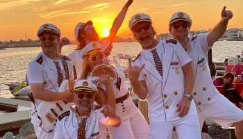 yachty by nature delta coves yacht rock band bands crew cruise yachty smooth captain carl scotty sunset